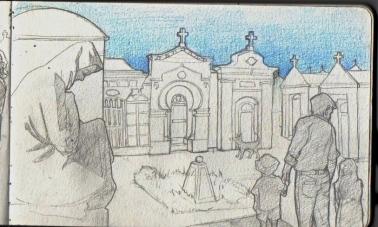 Bonifacio, cimetière