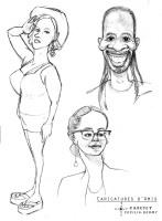 Caricature d'Amis