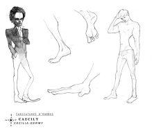 Caricatures d'Homme
