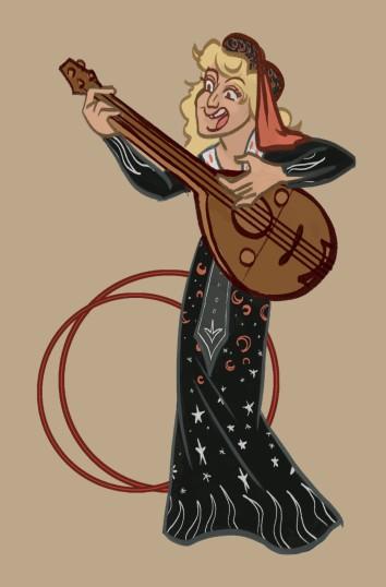 Medieval singer